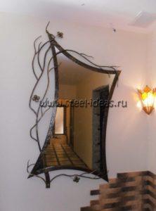 Кованое зеркало Киос