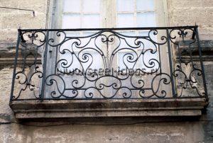 Кованый балкон Мия