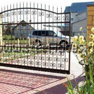 Кованые ворота Ринат