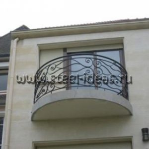 Кованый балкон Факро