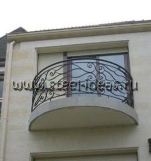 Кованый балкон Арт.19
