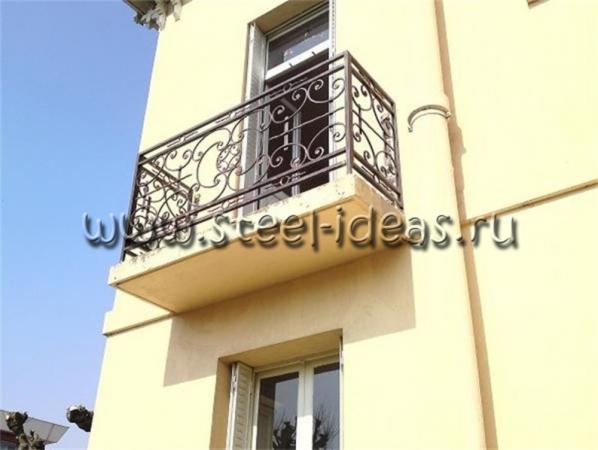 Кованый балкон Нрит