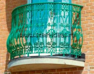 Кованый балкон Римма