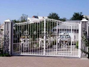 Кованые ворота Белла