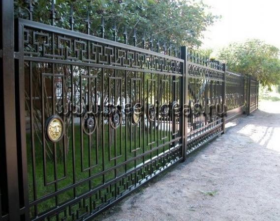 Кованый забор Глеб