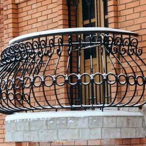 Кованый балкон Пиза