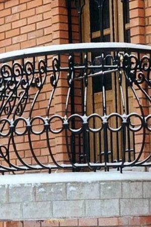 Кованый балкон Арт.03