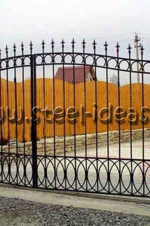 Кованые ворота Паула