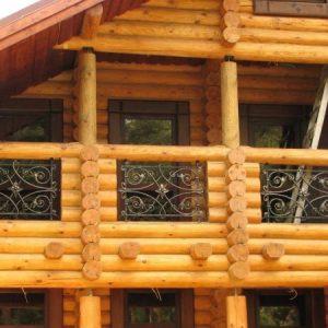 Кованый балкон Вайлд