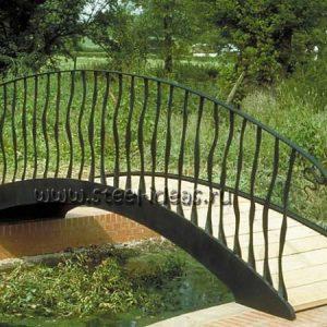 Кованый мостик 7
