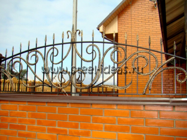 Кованый забор Аста