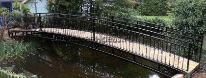 Кованый мостик 17