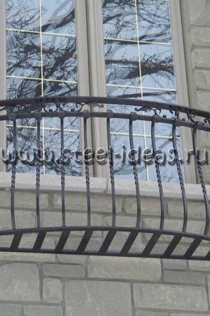 Кованый балкон Рея