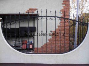 Кованые ворота Пика