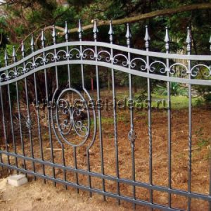 Кованый забор Эма