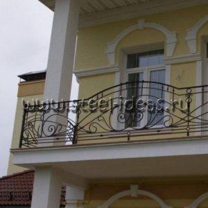 Кованый балкон Генри
