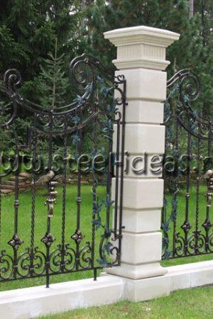 Кованый забор Лонда