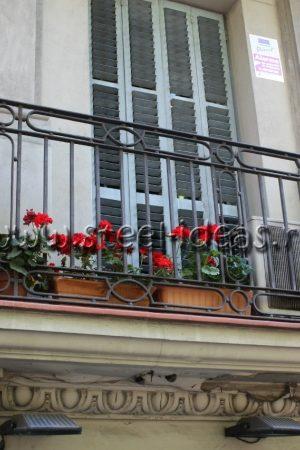 Кованый балкон Арт.02