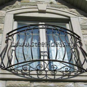 Кованый балкон Велюкс