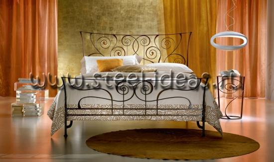 Кованая кровать Натали