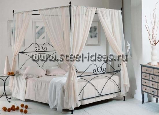 Кованая кровать Моника