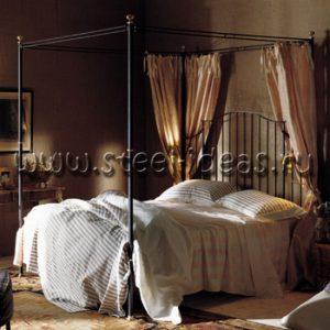 Кованая кровать - Брауни