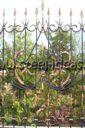 Кованый забор Зорг