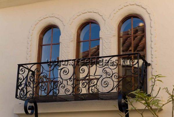 Кованый балкон Анет