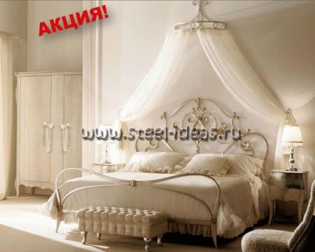 Кованая кровать Рея
