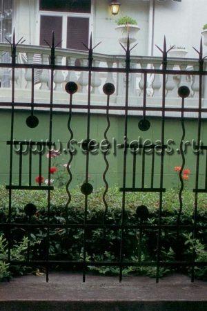 Кованый забор Карл