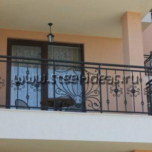 Кованый балкон Зара