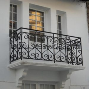 Кованый балкон Руна
