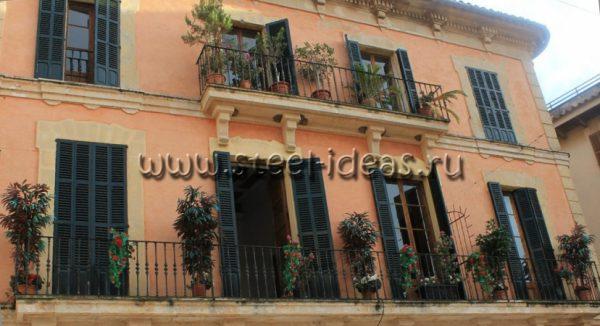 Кованый балкон Пронто