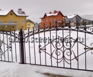 Кованый забор Арт.25