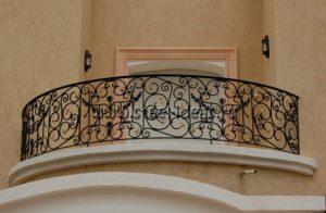 Кованый балкон Бонжо