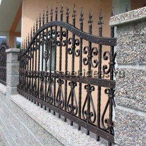 Кованый забор Клео