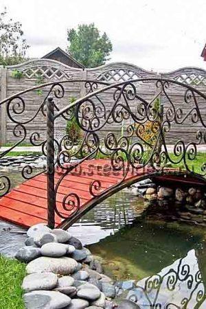 Кованый мостик 9