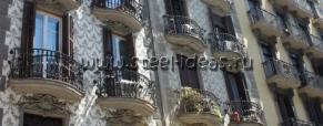 Кованый балкон Зерг