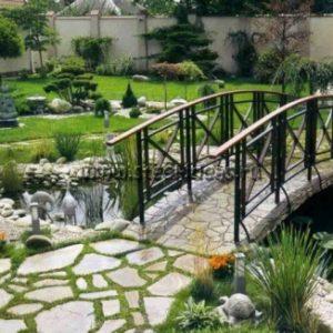 Кованый мостик 12