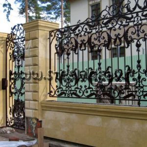 Кованый забор Сабина