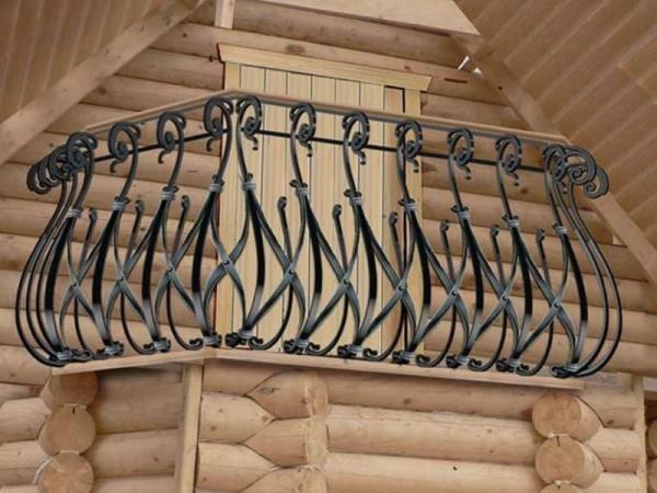 Кованый балкон Арт.27