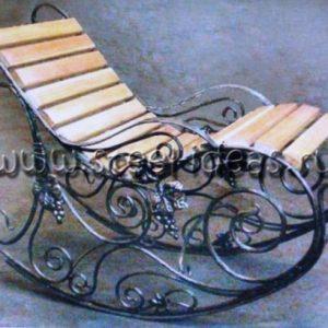 Кованое кресло Лоза
