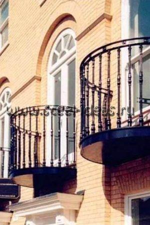 Кованый балкон Арт.21