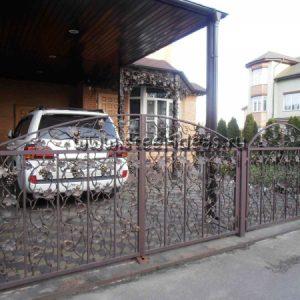 Кованые ворота Берта