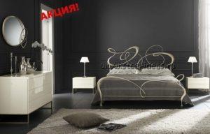 Кованая кровать - Бруко