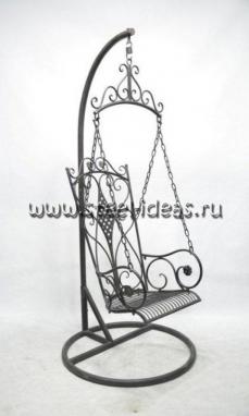 Кованые качели арт.009