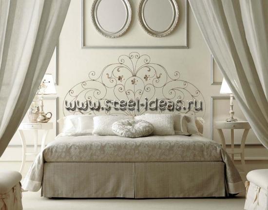 Кованая кровать - Горизонт