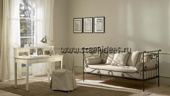 Кованая кровать - Уно
