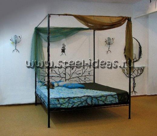 Кованая кровать - Гестия