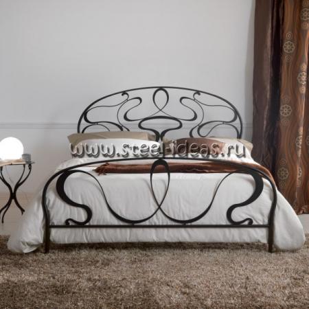 Кованая кровать - Зефира
